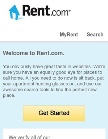 SANDBOX: You've officially signed up for Rent.com