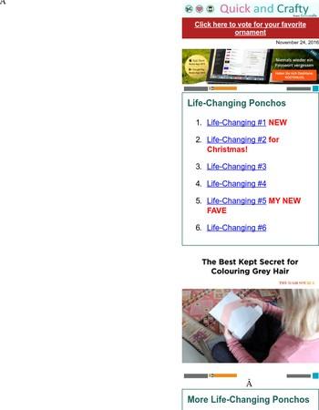 24 Life-Changing Ponchos