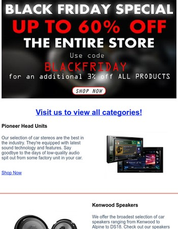 Black Friday Special - Up to 60% Off - Coupon Inside