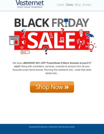 Black Friday Weekend Deals