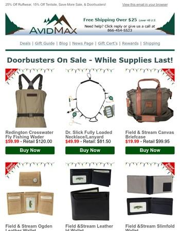 Black Friday Doorbusters & More!