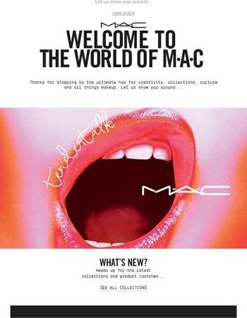 Welcome to MAC Cosmetics