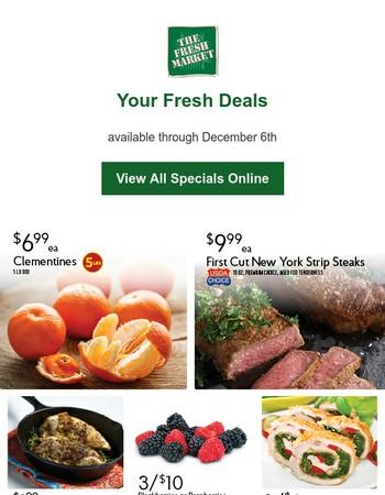Fresh Deals for November 30th - December 6th