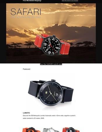 Metropolis Adventure & Luxury Watches Make Gift Giving Easy
