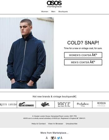 Alllllll the coats & jackets