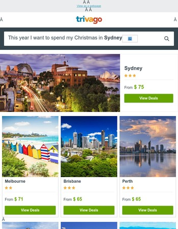Early Bird Christmas Hotel Deals ⏰