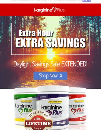 Extra Daylight, Extra Day of Saving