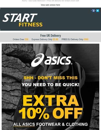 Asics Flash Sale - Extra 10% Off Using Code ASICS10
