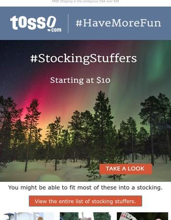 #StockingStuffers starting at $10