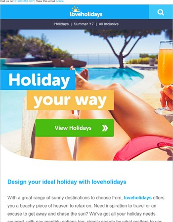 Love holidays? You'll love this