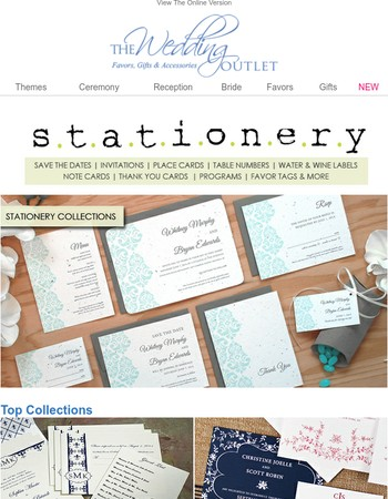 DIY Stationery: Place Cards, Table Numbers, Programs & More