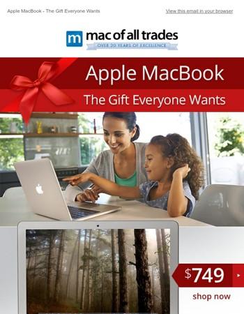 Apple MacBook - The Gift Everyone Wants
