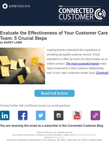 Evaluate the Effectiveness of Your Customer Care Team: 5 Crucial Steps