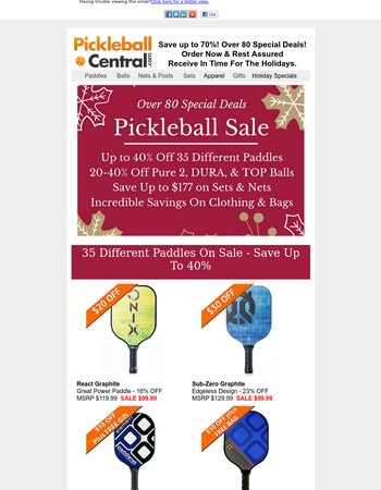 Pickleball central coupon code