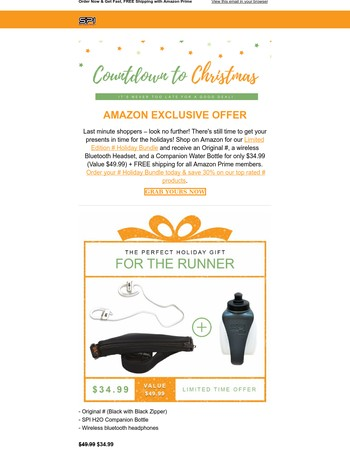 Finish Your List With 30% Off The AmazonSPIbelt Holiday Bundle