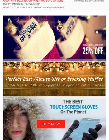 Glider Gloves Newsletter