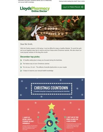 12 healthy eating tips for the festive season