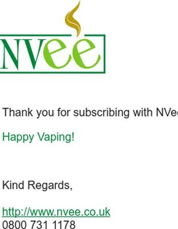 NVee.co.uk- News letter subscription