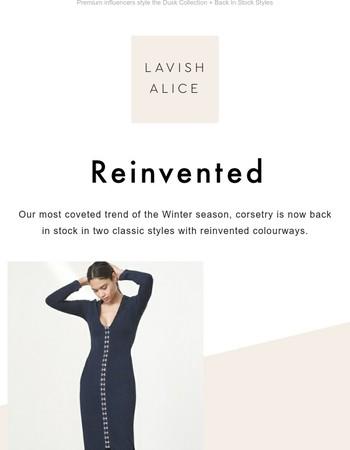 Classic Lavish Styles  Back In Stock