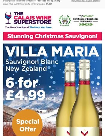 Christmas shop essentials - sparkling deals on wine and fizz!