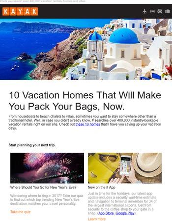10 Amazing Vacation Rentals