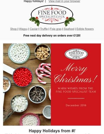 Fine Food Specialist Newsletter