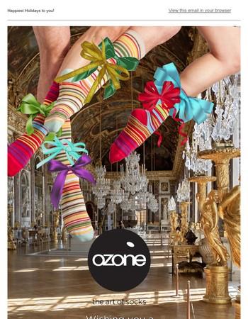 Warm Wishes from Ozone Socks