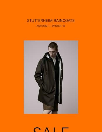 Antidepressant - The Stutterheim AW16 Sale is Here
