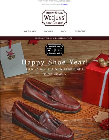 Happy Shoe Year!