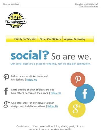 Social? Join Us