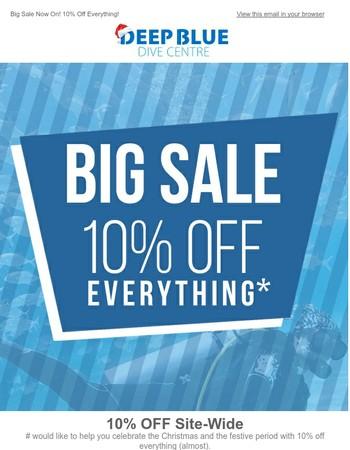 Big Sale | 10% Off