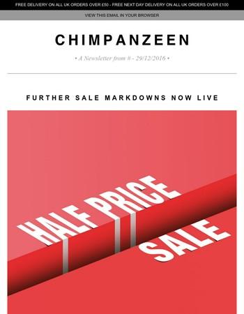 The Chimp Store Newsletter