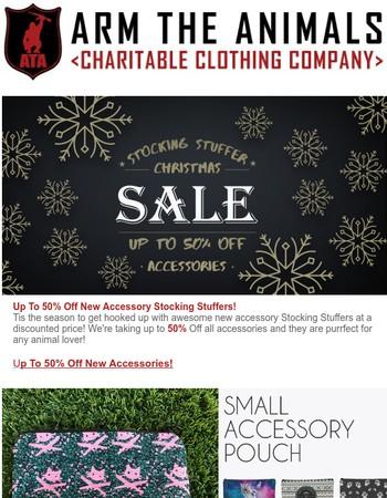 50% Off Stocking Stuffers! Last Call Holiday Tees!