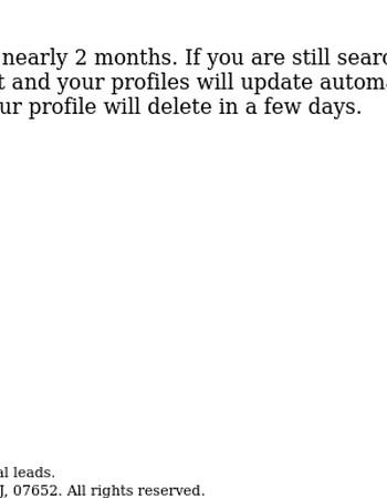 Rental Profile To Delete