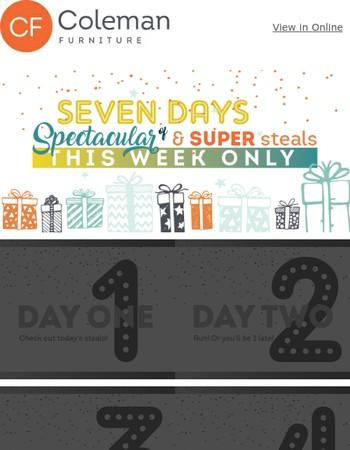 LAST CHANCE! Spectacular & Super Savings Ahead!