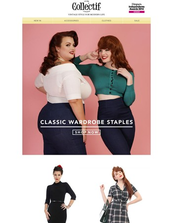 Classic Wardrobe Staples | Shop Now