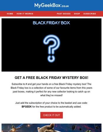My Geek Box Newsletter