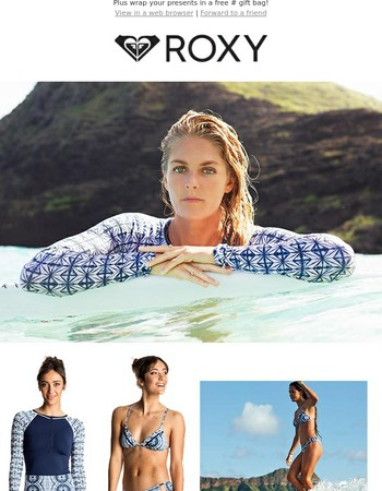 Get Ready For Fun In The Sun With ROXY Swim & Rash Vests