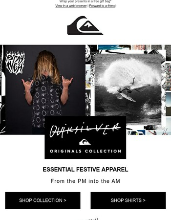 Essential Festive Apparel | Originals Collection