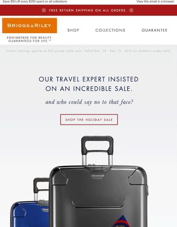 Enjoy $50 off Every $350 Spent + Free Return Shipping