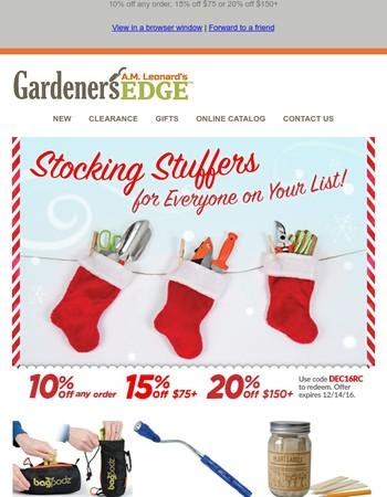 Favorite Stocking Stuffers + Save up to 20%