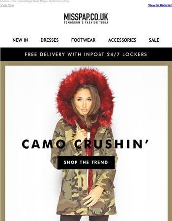 Trend Alert: Camo Crushin'