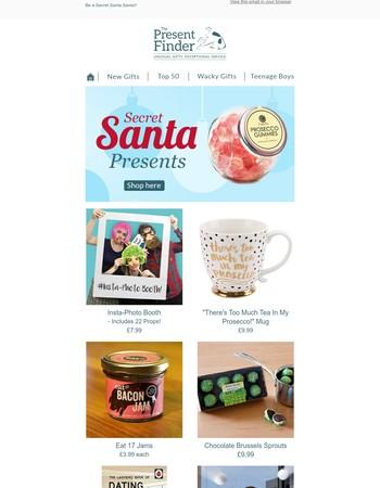 Top 10 Secret Santa Gifts!