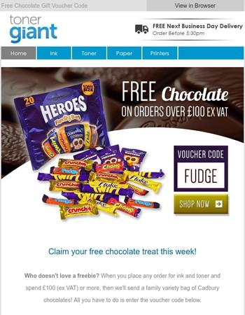 Chocolate Treat   Voucher Code