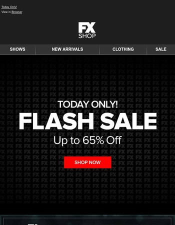 Go, Go, Go! Flash Sale Starts NOW