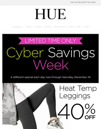 Daily Cyber Deal + Sitewide Savings