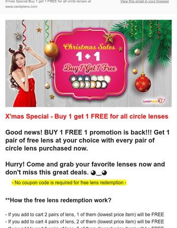 Candy Lens Newsletter