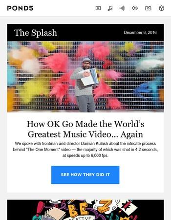 How OK Go Made the World's Greatest Music Video… Again