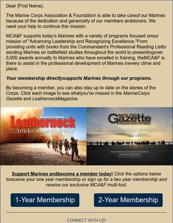 Marines Need You