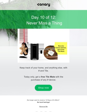 12 Days of Canary: Canary + Tile
